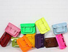 Bohemia Satchel Bag - Loving these colors <3
