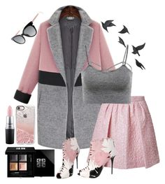 """A bit of sprint"" by hereisalessia ❤ liked on Polyvore featuring Giambattista Valli, Fendi, Casetify, Givenchy, Alexander McQueen, MAC Cosmetics and Jayson Home"