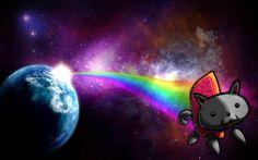 nyan cat background 1