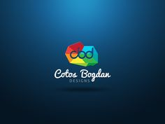 Personal logo by Cotos Bogdan Personal Logo, Personal Branding, Cut Out Letters, Bussiness Card, Describe Yourself, Edamame, Cool Logo, Optimism, Logo Design Contest