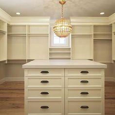 Cream Closet cabinets and Shelves, Transitional, Closet
