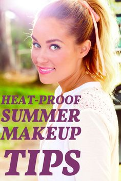 While we all want our makeup to last the distance, sometimes the heat and humidity can cause creasing, oily patches and even shiny skin. This summer, prep your face with a few of our beauty-bag essentials for heat-proof summer makeup.