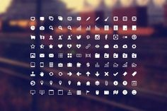 https://creativemarket.com/IconDeposit/725-Developer-Icon-Set This Developer Icon Set comes with 108 custom vector shapes in PNG format in 4 different sizes 16x16, 32x32, 48x48, and 64x64 pixels. PSD format in all 4 sizes and .CSH format (custom vector shapes). Everything is entirely vector and can be scaled to any size if needed, even larger then 64x64 pixels.