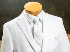 The Gorgeous 1 Kids Boys Matching Shirt /& Slim Tie White Formal Smart