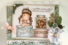 Longing Tilda from Magnolia stamps