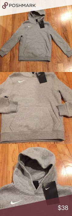 Nike boy hoodie sweater Brand new with tag Ship same day or the day after Nike Shirts & Tops Sweatshirts & Hoodies