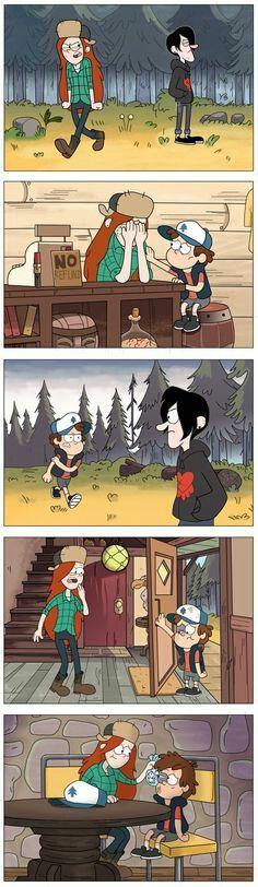Funny relationship cartoons gravity falls 43 ideas for 2019 Disney Xd, Disney Memes, Disney And Dreamworks, Dipper And Wendy, Dipper And Mabel, Dipper Pines, Gravity Falls Comics, Gravity Falls Art, Gravity Falls Dipper