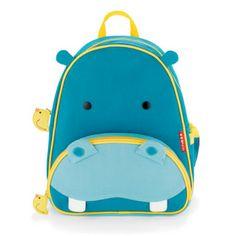 Детский рюкзак Skip-Hop Zoo Pack HIPPO. Размер: 11 x 25 х 29 см