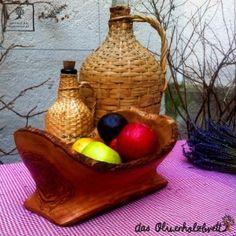 #Schale #Schüssel aus #Olivenholz, #rustikal #naturbelassen, #oval, #handgefertigt, #dekorativ,  im #Landhausstil #handgemacht