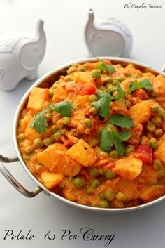 Potato and Pea Curry ~ The Complete Savorist