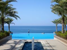 Oman | The Infinity Pool. credit: Shangri-La's Barr Al Jissah Resort and Spa. view on Fb https://www.facebook.com/OmanPocketGuide #oman #traveltooman