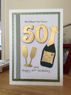 Handmade Birthday Card Boquet Of Die Cut Ballons Age In