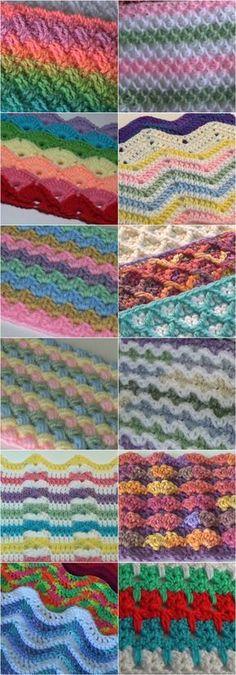 50+ Beautiful Crochet Stitches - Free Video Tutorials