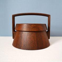 Vintage Jens Quistgaard Dansk Rare Woods Wenge Ice Bucket on Etsy, $420.00
