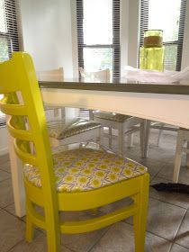 What in the ... HELLO!: Kitchen Table and Chairs MAKEOVER