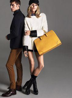 Gucci Pre-Fall 2014    Anja Rubik   Mert Alas and Marcus Piggott