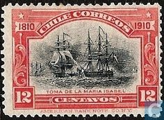 Chile [CHL] - Independence, 1810-1910. 1910