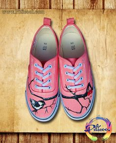 Tenisi pictati - Handmade by Piticool ART Vans Authentic, Sneakers, Shoes, Art, Fashion, Tennis, Art Background, Moda, Slippers