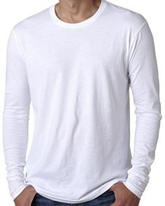 Yoga Clothing For You Mens Fitted Long Sleeve Tee Shirt  Price : $12.99 http://yogaclothingforyou.hostedbywebstore.com/Yoga-Clothing-For-You-Fitted/dp/B00PUWIVV8