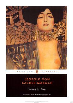 Venus in Furs Leopold Von Sacher-Masoch Cover; Gustav Klimt, Judith and the head of Holofernes Gustav Klimt, Free Books, My Books, Penguin Classics, Thing 1, Classic Literature, Classic Books, Book Worms, The Book