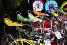 Quartet of Schwinn Bikes from the '60's by artistmac, via Flickr