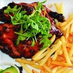 The Taverna is conveniently situated on Sea Point's Main Road, almost directly opposite the New Kings Hotel. It is a cosy Mediterranean piazza restaurant offering Portuguese, Italian and Greek cuisine. Hotel King, Cape Town, Restaurants, Chicken, Food, Kitchens, Essen, Restaurant, Meals