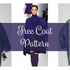 FREE Coat Pattern – Plus Size