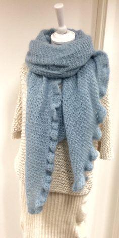 3-in-1 shawl/poncho/scarf from varmdesign.no