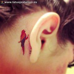 tatuajes de loro