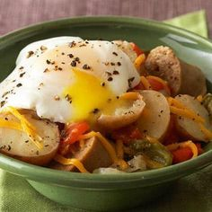 Potato, Sausage, and Egg Slow Cooker Breakfast