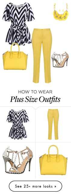 """""""Plus Size Diva"""" by shawanda-elam on Polyvore featuring Chinese Laundry, Givenchy and 073117"""