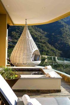Garza Blanca Preserve penthouse, Mexico. Brunelleschi Construction.