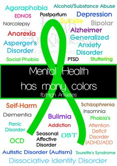 Mental Health Has Many Colors