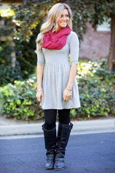 Sarina Day Dress-7 Colors! - WhitePlum.com