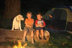 Do you remember camping when you were a kid?