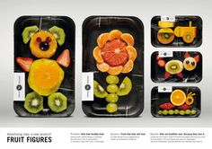 Fresh'N'Friends Fruit Figures packaging make kids eat healthy food