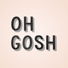 Do you know these moments in your life when you think Oh Gosh! Well the good thing is, one day you will laugh about it …