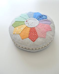 Color Wheel Pincushion Kit by TeaRoseCompany on Etsy