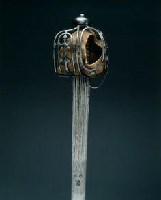 Basket-Hilted Broadsword,  Hilt: c. 1720, Blade: early 1700s                                                hilt: Scotland; blade: Germany, Solingen, hilt: 18th Century