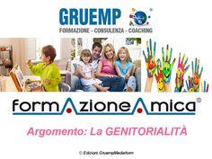 Pillole di formazione sul tema della GENITORIALITÀ