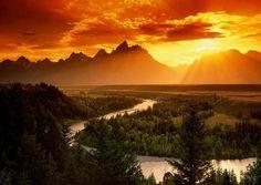 Snake River, WY (Hidden World Wonders)