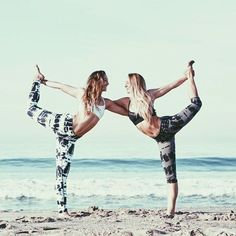 Partner Yoga @serendellion/endlessspiral