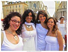 Cena in Bianco Unconventional Dinner: Cena in Bianco Torino 2014: le immagini di Roberto...
