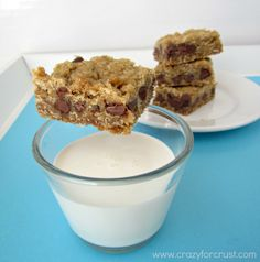 oatmeal chocolate chip Peanut Butter bars Recipe