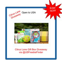 Congratulations to the winner of the Citrus Lane Giveaway!   on USA Freebies N Deals: Do your Kids Like Getting Mail? Enter This USA Giveaway! (sponsored) Hurry!  Only 1 days left!!