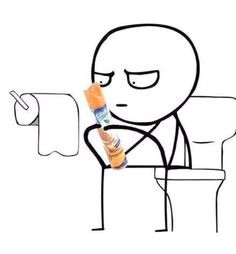 When you forget to bring ur phone to the toilet