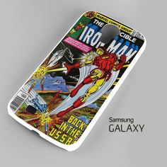 Ironman Marvel DC Comics Samsung Galaxy S3 S4 S5 Note 3 Cases – firetsy