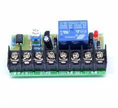 12V delay electrical control device supply delay Board For door access control  intercom electric magnetic lock bolt lock