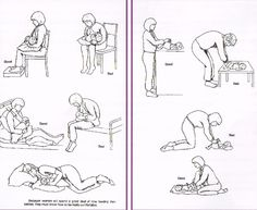 Postnatal exercises can be started 2-3 days after a normal delivery. After a caesarean section, you can start the pelvic floor exercises but do not start the abdominal exercises until after your postnatal 6-8 week check. These exercises should not cause any pain. The exercises should be done slowly and gently.