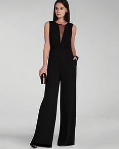 3464733e1ae7 BCBGMAXAZRIA Jumpsuit - Behati Keyhole Women - Contemporary - Bloomingdale s